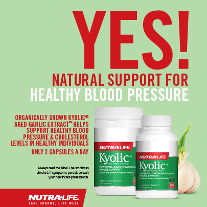 Natural Blood Pressure Control   Nutra-Life New Zealand