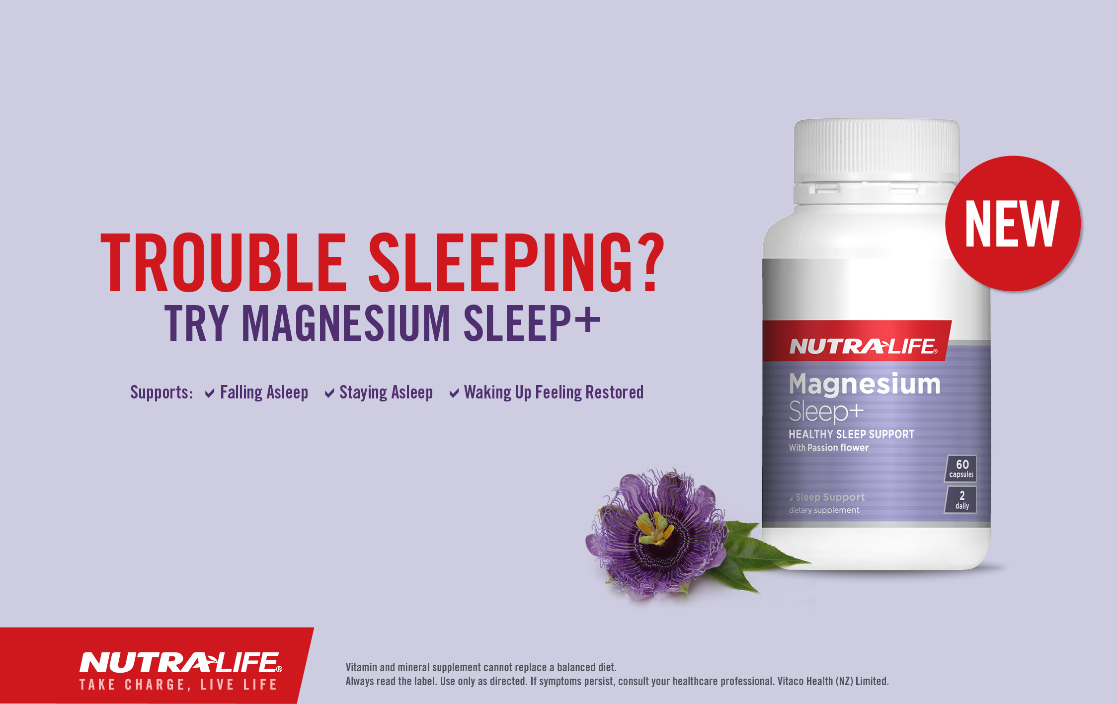Try Magnesium Sleep+