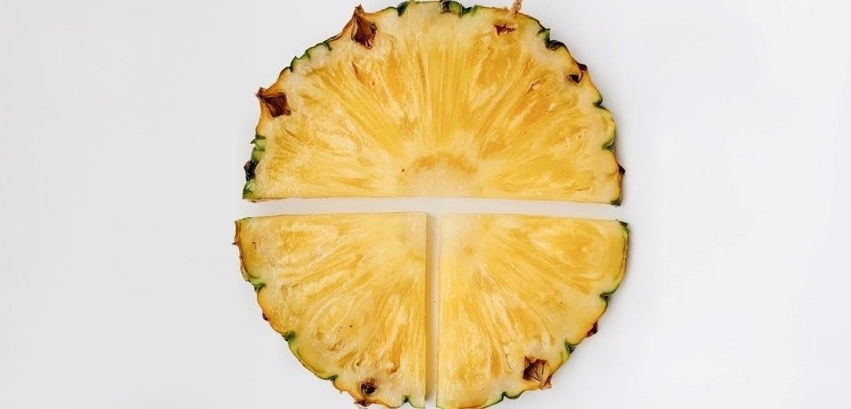 Vitamin C over Summer - Pineapple