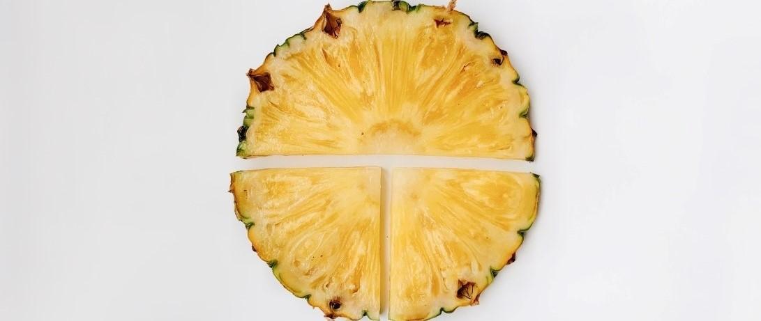 Vitamin C over Summer - Pineapple